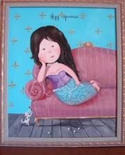 Картина Гапчинской Жду принца
