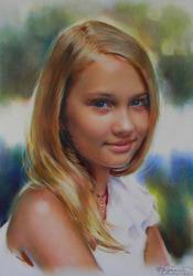 Оригинальный подарок портрет по фото на заказ Харьков,  Украина