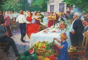 Советская живопись,  документы на вывоз из Украины.